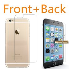 2pcs/lot Tempered Glass Screen Protector coque For iPhone 4 4S 5 5S SE 6 6S 7 Plus case fundas luxury Cover capa