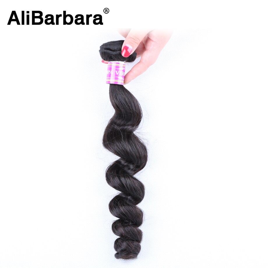 Hot Sale 8A Malaysian Virgin Hair loose Wave 1pc Alibarbara Hair Products Cheap Human Hair Bundles Malaysian loose Wave <br><br>Aliexpress