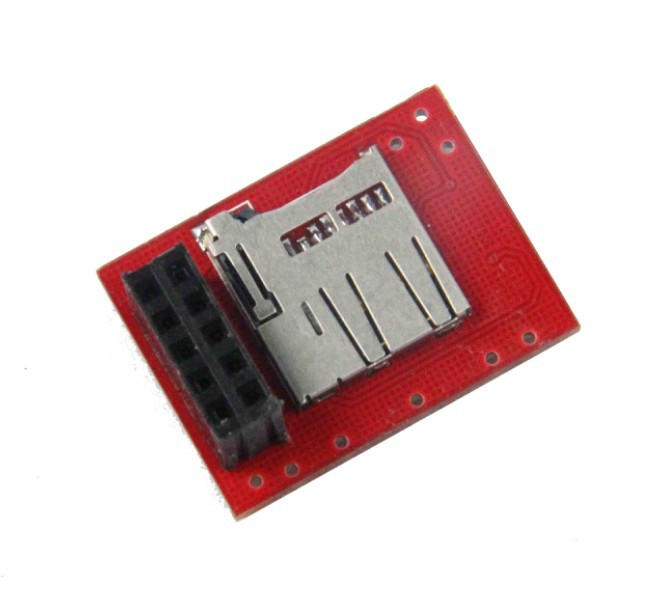 3 D printer accessory Breakout Board for microSD Transflash match with Sanguinololu Ver1.3a top quality free shipping<br><br>Aliexpress