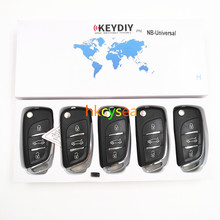 5PCS/LOT 3 Button KD NB Series Universal Multifunctional DS Style Remote Work with URG200/KD900/KD200 Machine(China)