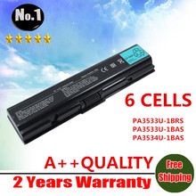 wholesale new Laptop Battery For Toshiba Satellite A200 A202 PA3533U-1BRS  PA3533U-1BAS PA3534U-1BAS PA3534U-1BRS PA3535U-1BAS