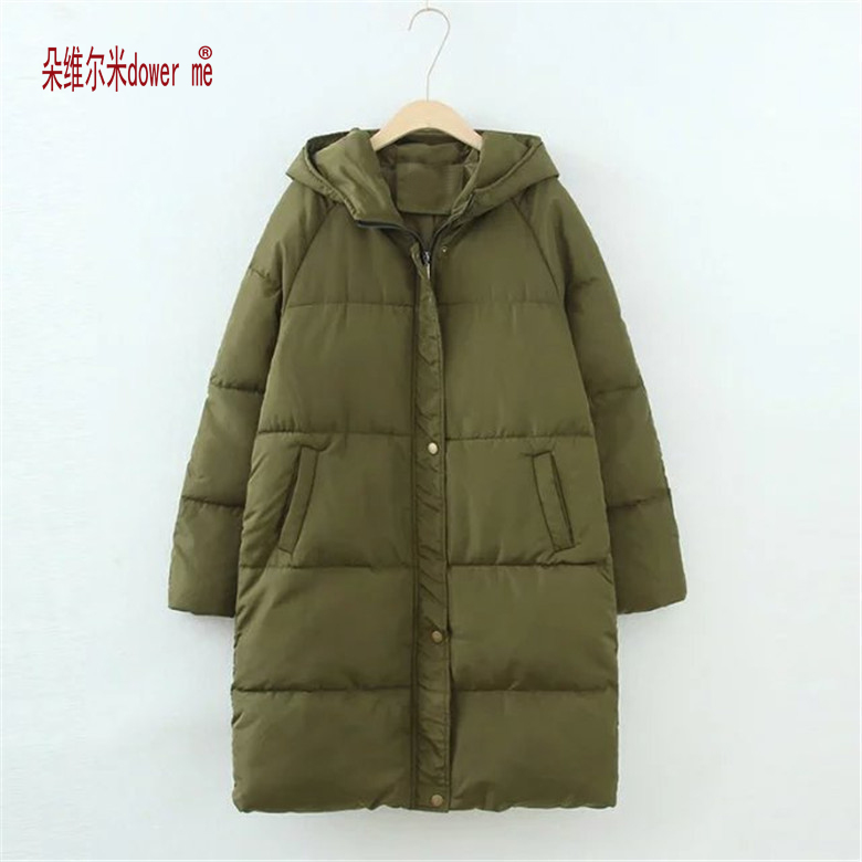 Women Winter Coat Jacket Warm Woman Parkas Female Overcoat High Quality Quilting Cotton Coat dower me 2017 New Winter CollectionÎäåæäà è àêñåññóàðû<br><br>