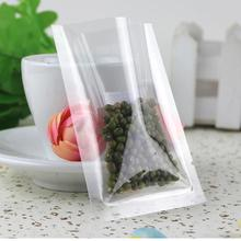 100pcs/lot 14 Sizes in web Clear Plastic Vacuum Punches Storage Bag Transparant Food Packing Open TOP Resealable Small Package