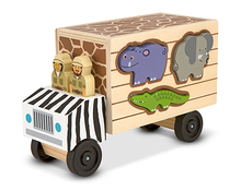 Free Shipping!Baby Toy Animal Rescue Wooden Play Set Child Vehicles Educationla Toys Christmas Toys gift