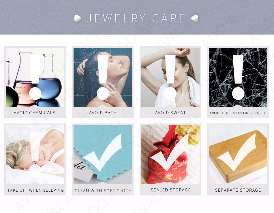 silver charms jewelry care