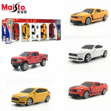 MaiSto 5PCS 1:64 Alloy car model Ford series Sports car pickup kids toys