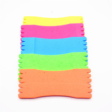 5   pcs / lot  about 12 cm  Foam Wire Board Fishing Winding Line Board  Fishing Tackle Accessories
