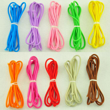 2.5mm color high-elastic high-quality round elastic band / round elastic rope / rubber band elastic line / sewing accessories(China)