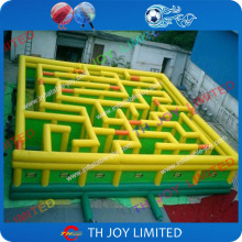 Free shipping to your door!giant 8x8m/26ftx26ft inflatable maze, inflatable playground maze,inflatable puzzle game