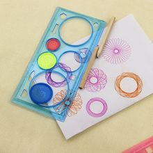 Hot Spirograph Geometric Ruler Learning Drawing Tool Stationery Creative Gift