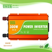 AC-DC hybrid Inverter 300W Pure Sine Wave inverter 600W peak 12v to 220v Car Power Inverter home UPS