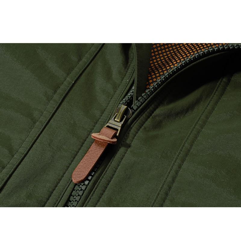 TAPOO Military Jackets bomber Men Army Winter Outerwear Jacket windbreaker Slim Warm Overcoat casual mens coat Clothing