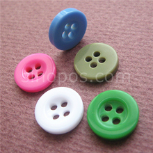 Round Resin Buttons Of Sizes Colors, plastic pinky child shirt button painting DIY craft scrapbook embellishment quilting sewing