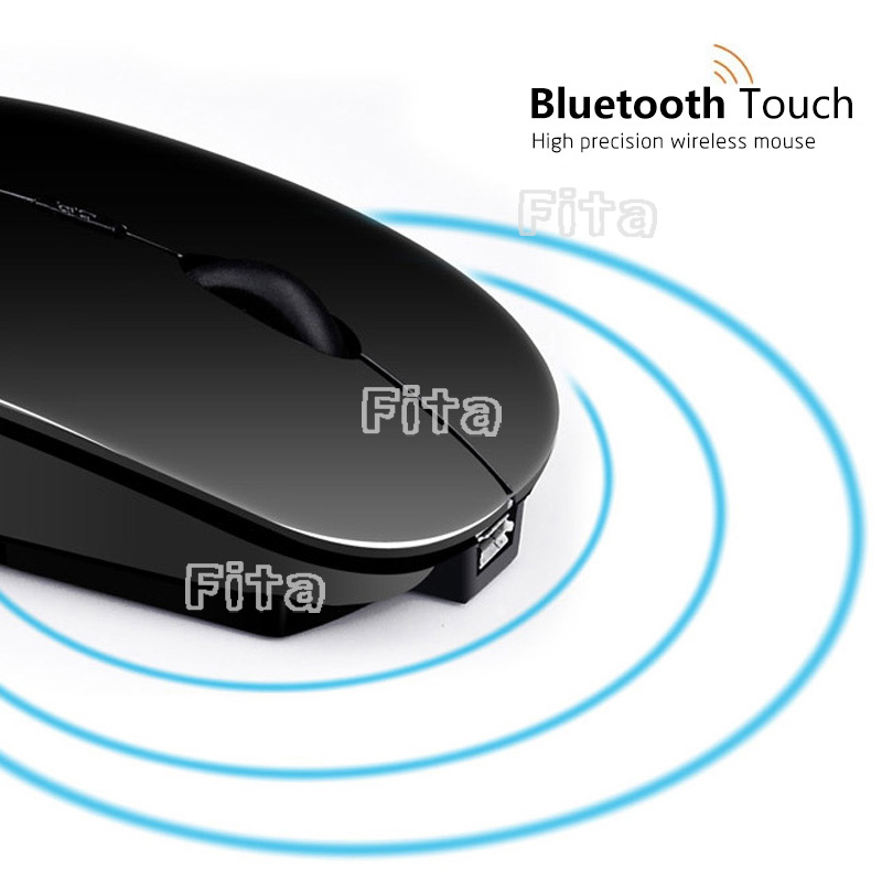 Rechargeable Silent Wireless Arc Ultra Slim Mouse DPI Optical Mini Righ Hand Mice for Computer Desktop Laptop