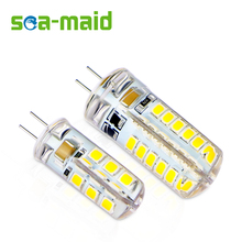 10PCS Energy Saving 220V LED Lamp bulb Replace 3W 5W 7W 9W Fluorescent Light 2835 LED 24 48 SMD G4 LEDs lampada led