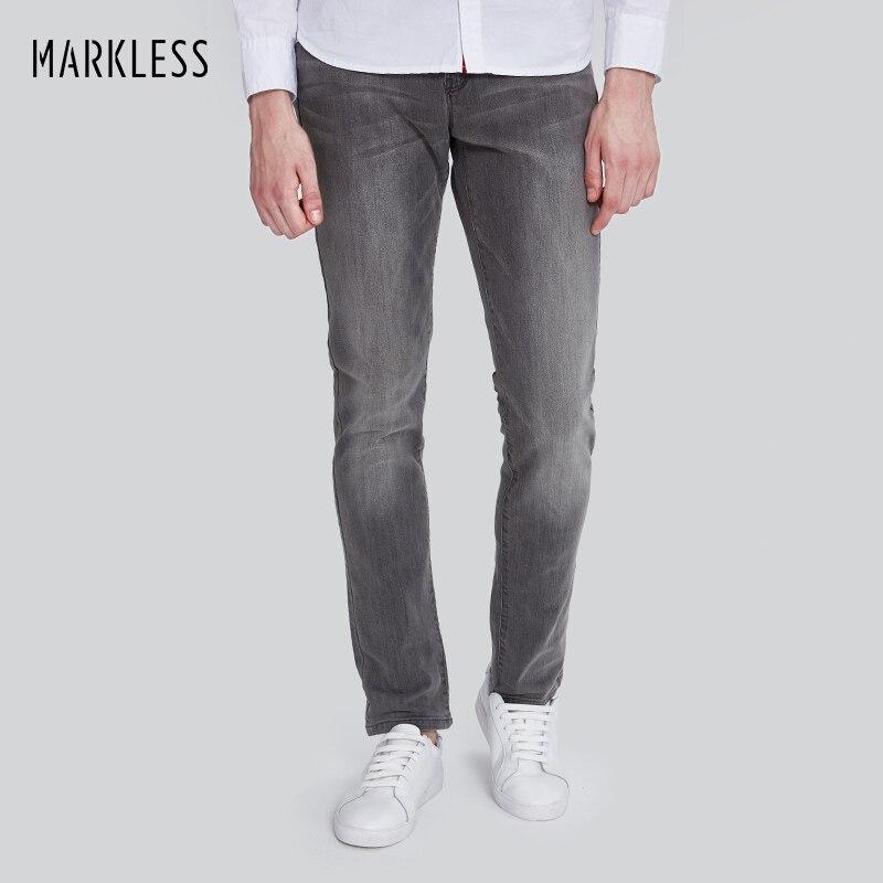 Markless Brand 2017 Autumn New Arrival Men Jeans Plus Size Vintage Retro Style Gray Jeans Men Straight calca masculina NZA7020MÎäåæäà è àêñåññóàðû<br><br>