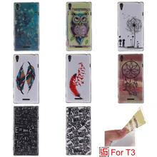 Buy Beautiful Ultra Thin TPU Silicone Soft Phone Case fundas Cover Cove Bag Sony Soni Xperia Xperi Experi Xpera T3 D5103 for $3.75 in AliExpress store