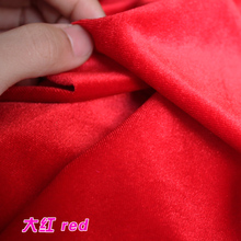 Red Silk Velvet Fabric  Velour Fabric  Pleuche Fabric  Clothing Fabric  Evening Wear  Sports wear  Sold By The Yard