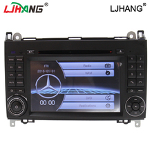 low price 2din Car DVD GPS Head unit for Mercedes Benz B200 A B Class W169 W245 Viano Vito W639 Sprinter W906 3G Bluetooth Radio