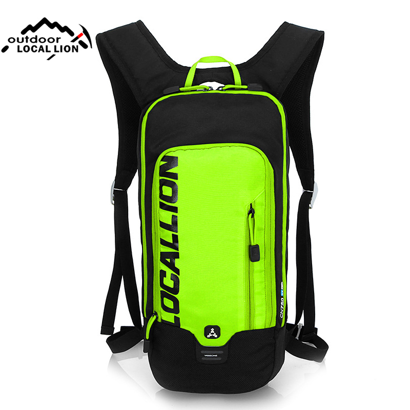 LOCALLION Outdoor Cycling Backpacks Bicycle Water Bag Women Men Sports Running Rucksack Travel Hiking Backpack Mochila XA12WA<br>