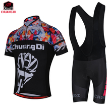 chuang di Summer Specialized Cycling Jersey MTB Bike Jersey Quick Dry Bicycle Jersey Breathable Cycling Clothing Ropa Ciclismo