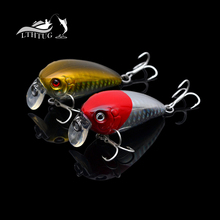 Trulinoya Crank Phantom 50mm 8g Little Fat Crankbait Fishing Lures Hard Bait Water Depth 0.8M Plasitc Lures Pesca(China)