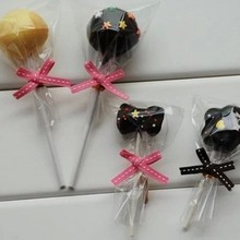 100pcs/lot 4 Size OPP Transparent Clear OPP Chocolate Flat Open Top Plastic Bag Candy Lollipop Packaging Bag B101(China)
