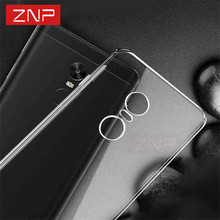 ZNP Silicone case for Xiaomi redmi note 4 4X Transparent ultra-thin Highly quality Full Cover For Xiaomi redmi 4X 4 4 pro case