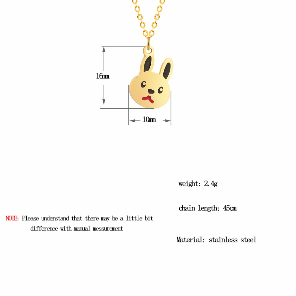 QIAMNI-Lovely-Rabbit-Animal-Bunny-Chain-Pendant-Necklace-Birthday-Pet-Lover-Gift-for-Women-K (4)