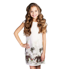 CHNDKNY 3-16 Years Girls Dress Summer 2017 Children Fashion Cotton Princess Dress Kids Party Dresses for Toddler Girls