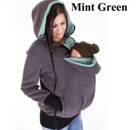 The New Dual Pouch and Energy-saving Multifunctional Detachable Baby Sleeping Kangaroo Sweater 5 Colors Free Shipping<br>