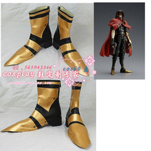 final fantasy Vincent Valentine Cos props ff7 felhounds vincent cosplay shoes customize cosplay shoes boots Custom-Made