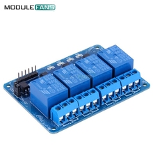 5V 4 Channel Relay Module 4-channel Relay Control Board For Arduino With Optocoupler Relay Output 4 Way Relay Module