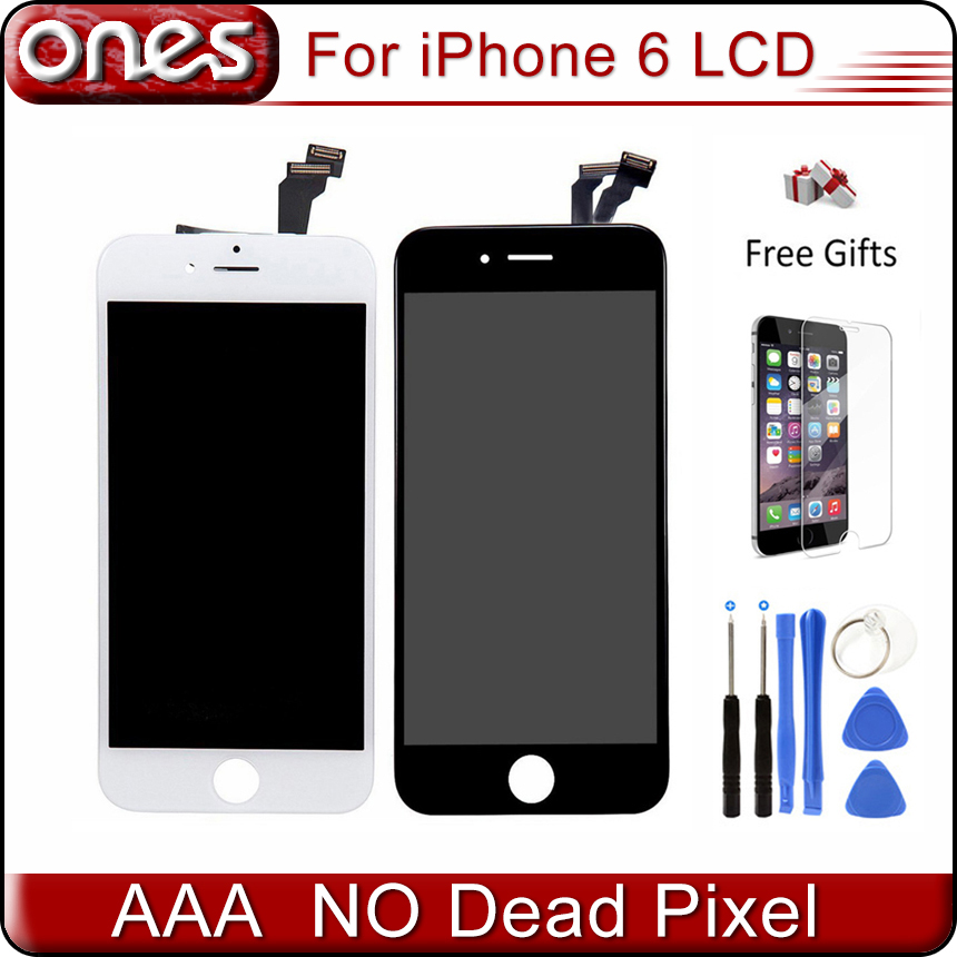Best AAA Quality For apple iPhone 6 LCD pantalla ecran iphone6 Touch Screen replacement 4.7 Display Digitizer Assembly<br><br>Aliexpress