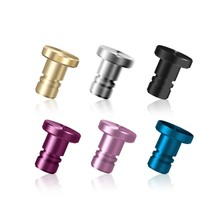 Universal 3.5mm Jack Plug Full Metal Phone Anti Dust Plug Smartphone Headset Stopper Cap For iphone 7 Xiaomi redmi 4 pro Huawei