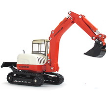 KDW Scale 1:50 Friction Powered Excavator Tractor Toy Truck Die-casts Big Truck Vehicles Models Classic Collections
