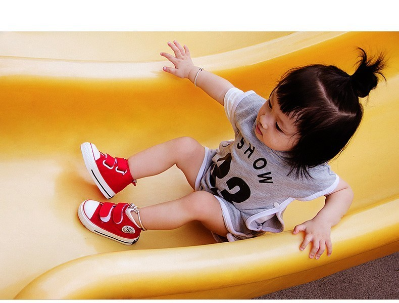 Baby shoes Girl Children Canvas shoes Boys 17 Spring Autumn Fashion High Cotton-made Baby girl little kids shoes 13