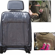 Universal 59 x 44 cm Children Baby Waterproof Car Auto Seat Back Clean Cover Protector Kick Mud Mat Transparent(China)