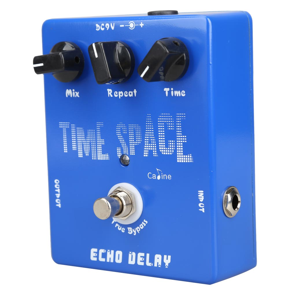 Delay Guitar Pedals CP-17 Echo Delay True Bypass Blue 600ms Max ARE4<br>