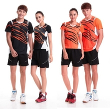 Men women sports suits Jersey Shorts Table tennis ping pang badminton sports Jersey Absorb sweat quick-drying anti-static M-4XL