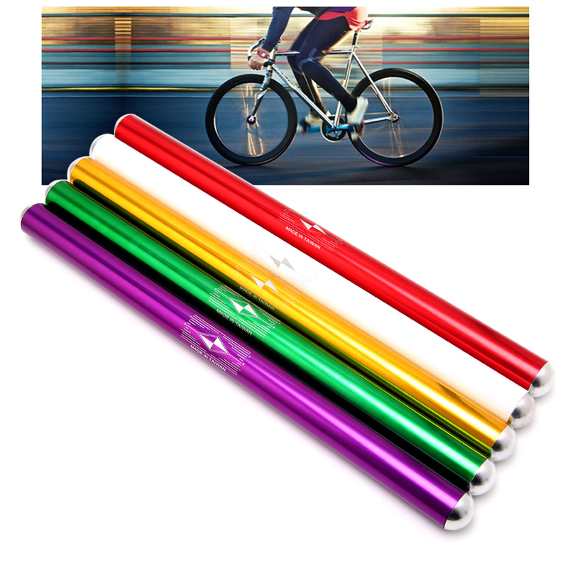 Alloy Fixed Gear Bicycle Cycling Straight Fixie Bike Straight Bar Handlebar
