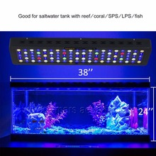 MarsAqua Switchble 300W Marine Aquarium Led Lighting Full Spectrum Led Coral Reef(China)