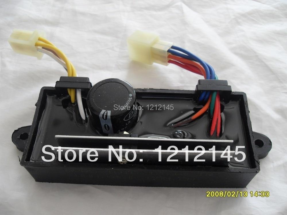 GTDK AVR5-1W1C Single phase Generator and Welder Dual use 5KW Generator AVR,Diesel Welding Generator AVR,Welder AVR<br>