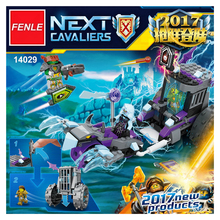 Lepin 14029 Nexus Knights Building Blocks bricks set Ruina's Lock & Roller Kids gift toys For Children compatible with 70349(China)
