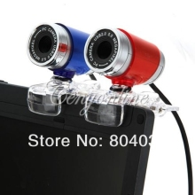 30 Mega Pixel Web Cam Camera Blue color USB 2.0 Web Cam 30M PC HD Webcam Camera for PC Skype Laptop Notebook