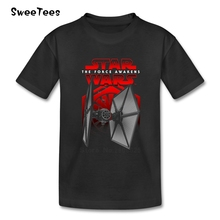 Black Squadron Unleashed Boys Girls T Shirt Cotton Star Wars Round Neck Tshirt Children Clothing 2017 Modern T-shirt For Baby(China)