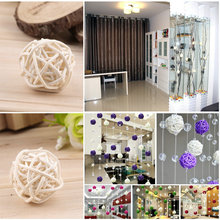 2Pcs/Set Wedding Decorative Rattan Ball,Christmas Decor Home Ornament / diameter Home Decoration Holiday Event & Party Supplies