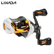Lixada 12+1 Ball Bearings Fishing Reels Baitcasting Reel Fishing Fly High Speed Fishing Wheel with Magnetic Brake System(China)