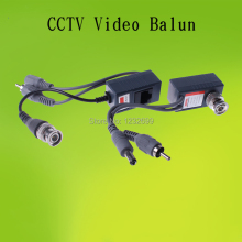 2014 Top quality Video balun BNC UTP RJ45 CCTV  video audio power 3 in 1 Transceivers 5pairs/lot