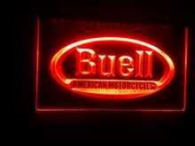 ys-34 Buell beer bar pub club 3d signs LED Neon Sign  home decor crafts